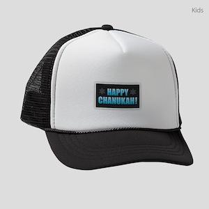 Happy Chanukah Kids Trucker hat