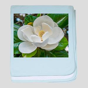 Magnolia baby blanket