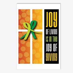 Joy of Giving Collection Postcards (Package of 8)