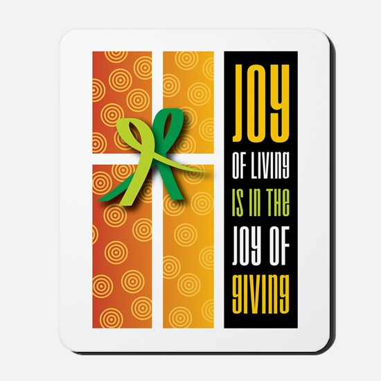 Joy of Giving Collection Mousepad