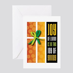 Joy Of Giving Collection Card Greeting Cards