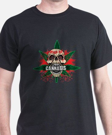Cool Anarchy skull T-Shirt