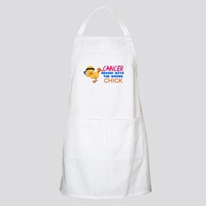 Cancer Messed With The Wrong Chick Apron