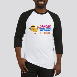 Cancer Messed With The Wrong Chick Baseball Jersey