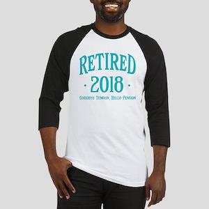 Retired 2018 Baseball Jersey