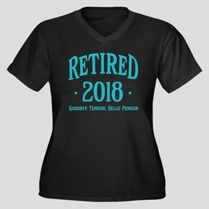 Retired 2018 Plus Size T-Shirt