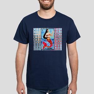 La Sirena & Water Dark T-Shirt