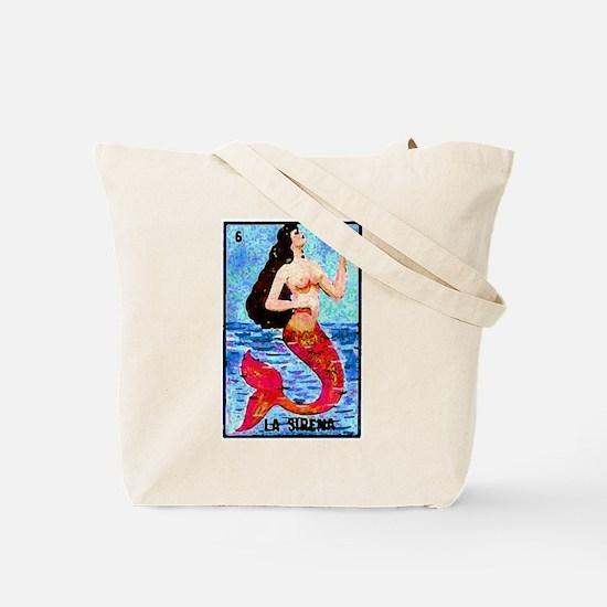 La Sirena & Water Tote Bag