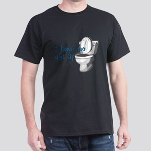 Seat Up Dark T-Shirt