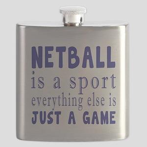 Netball is a sport Flask