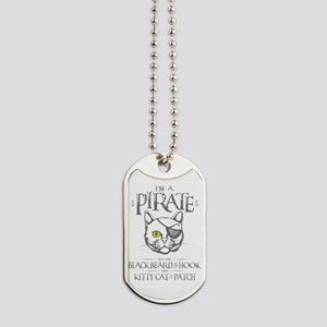 Pirate Kitty Dog Tags