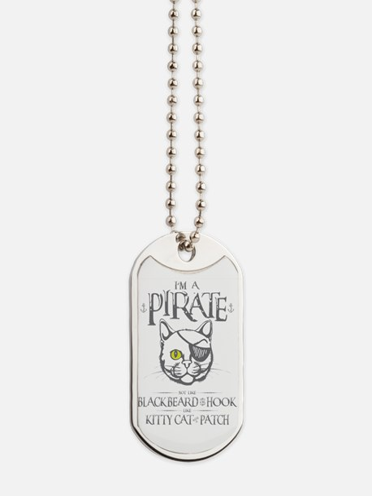Pirate Kitty Dog Tags