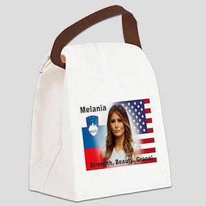 Melania Trump Canvas Lunch Bag