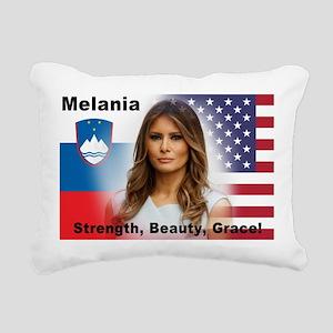 Melania Trump Rectangular Canvas Pillow