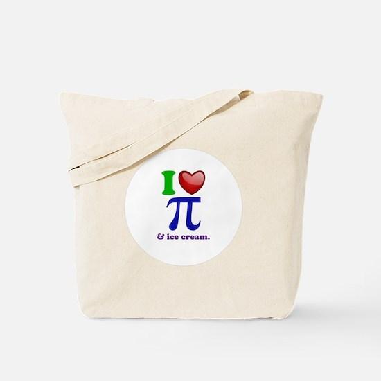 I Heart Pi Tote Bag