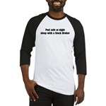 Feel safe with a Stock Broker Baseball Jersey