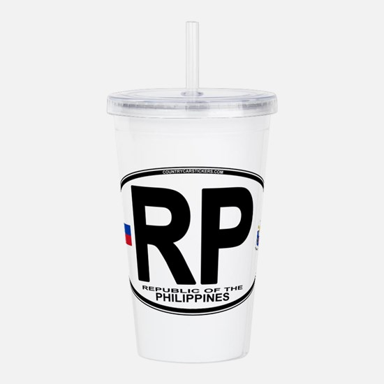 rp-oval.png Acrylic Double-wall Tumbler