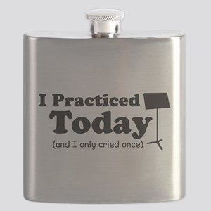 I Practiced Today Flask