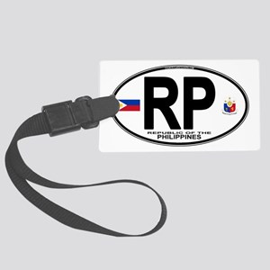 rp-oval Large Luggage Tag