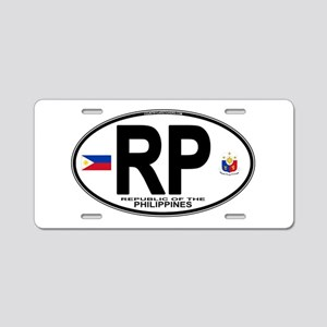 rp-oval Aluminum License Plate