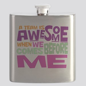 Funny office Flask