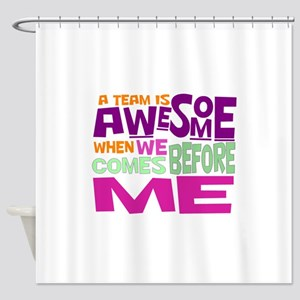 Funny office Shower Curtain