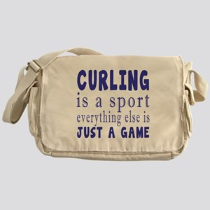 Curling is a sport Messenger Bag