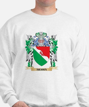 Sierra Coat of Arms - Family Crest Sweatshirt