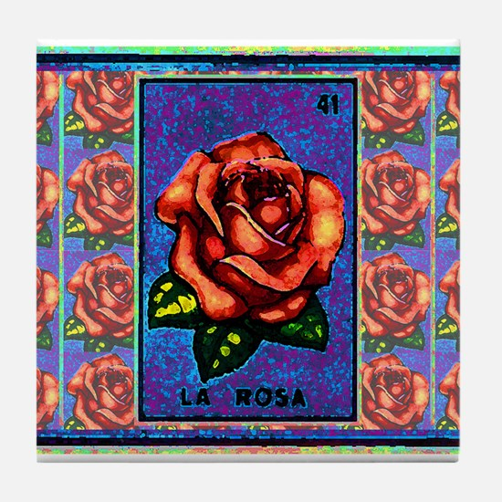 La Rosa & Friends Tile Coaster