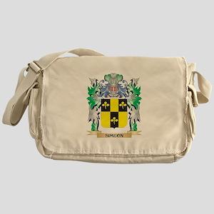 Simeon Coat of Arms - Family Crest Messenger Bag