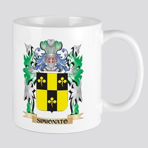 Simionato Coat of Arms - Family Crest Mugs