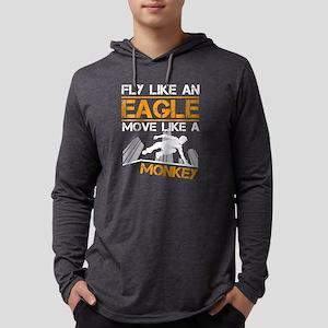 Parkour - Fly Like An Eagle Long Sleeve T-Shirt