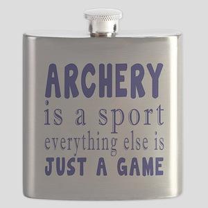 Archery is a sport Flask