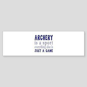 Archery is a sport Sticker (Bumper)