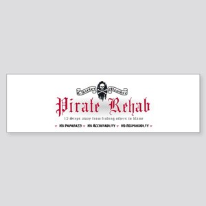 Pirate Rehab Bumper Sticker