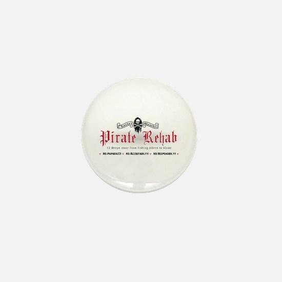 Pirate Rehab Mini Button