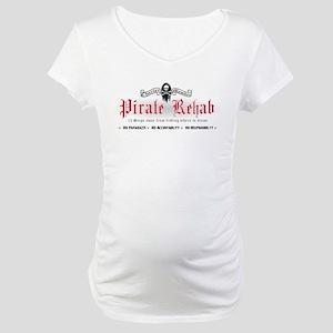 Pirate Rehab Maternity T-Shirt