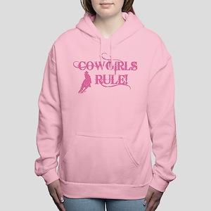 Cowgirls Rule Women's Hooded Sweatshirt