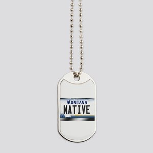 montana-plate-native3 Dog Tags