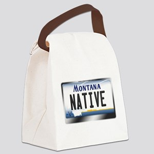 montana-plate-native3 Canvas Lunch Bag