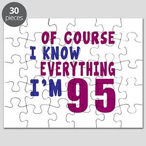 I Know Everythig I Am 95 Puzzle