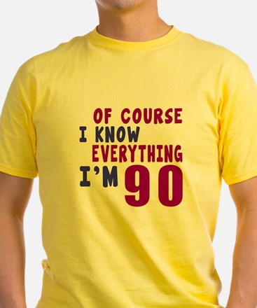 I Know Everythig I Am 90 T