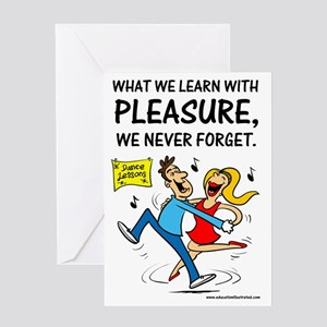 Learn with Pleasure Greeting Card
