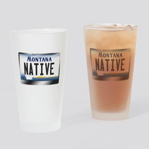 montana-plate-native3 Drinking Glass