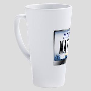 montana-plate-native3 17 oz Latte Mug