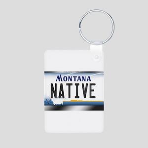 montana-plate-native3 Keychains