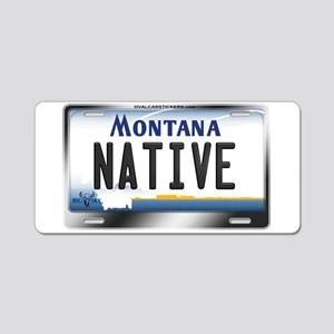 montana-plate-native3 Aluminum License Plate