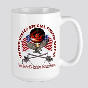 Special Forces Sniper Large Mug