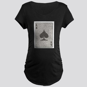 Ace of Spades Mosaic Maternity T-Shirt