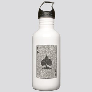 Ace of Spades Mosaic Stainless Water Bottle 1.0L